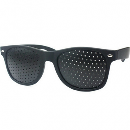 lyukas szemüveg, Hollywood, pinhole, látásjavító szemüveg